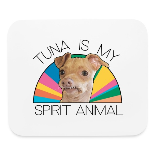Tuna is my Spirit Animal Mouse Pad (multi) - Mouse pad Horizontal