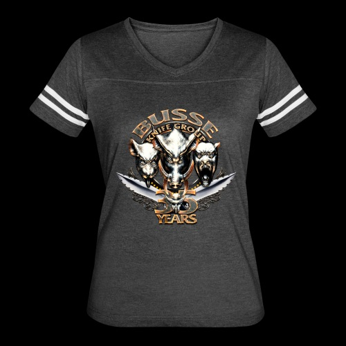 35th Anniversary Ladies Athletic Tee - Women's Vintage Sport T-Shirt