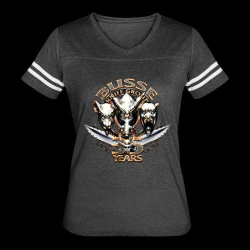 35th Anniversary Ladies Athletic Tee - Women's Vintage Sport T-Shirt