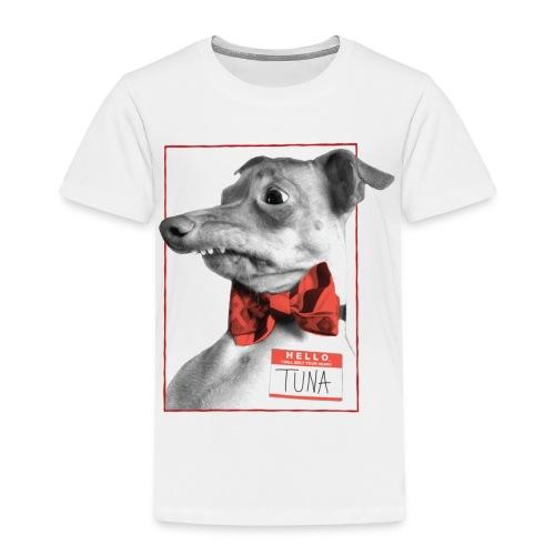 Hello. I will melt your heart. TUNA - Toddler Premium T-Shirt