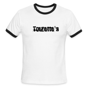 Tourette's - Simple - Men's Ringer T-Shirt