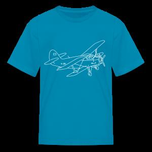 Biplane - Kids' T-Shirt