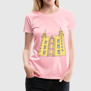 The torricini of Ducal Palace of Urbino (Italy) - Women's Premium T-Shirt