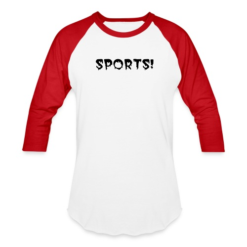 SPOOKY SPORTS BASEBALL TEE - Baseball T-Shirt