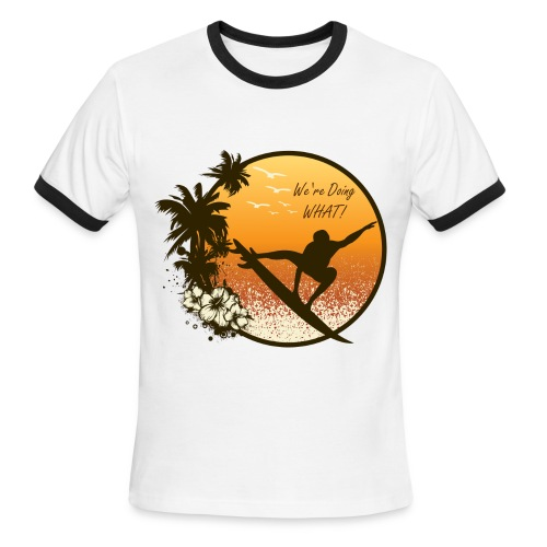 Retro - Men's Ringer T-Shirt