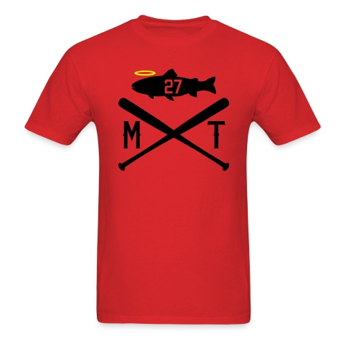 Crossbats - Trout + 27 - Men's T-Shirt