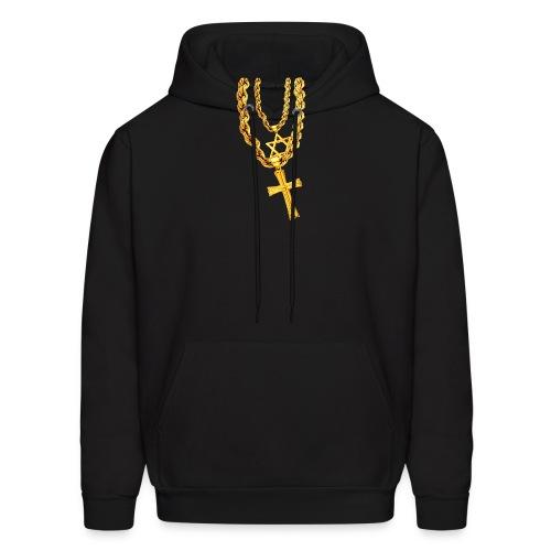 half jewish half catholic hoodie - Men's Hoodie