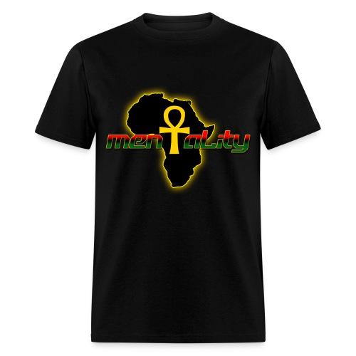 African Mentality - Men's T-Shirt