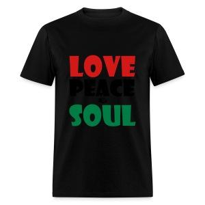 Love Peace & Soul - Men's T-Shirt
