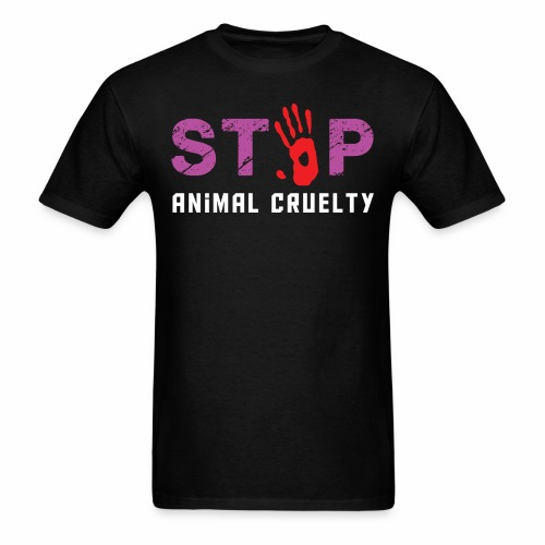 Animal respect - Men's T-Shirt