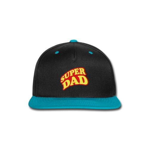Super Dad Baseball Cap - Snap-back Baseball Cap