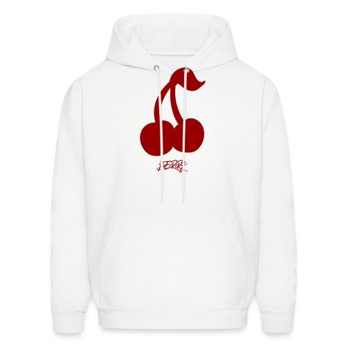 Heart Red RETRO Berry Hoodie - Men's Hoodie