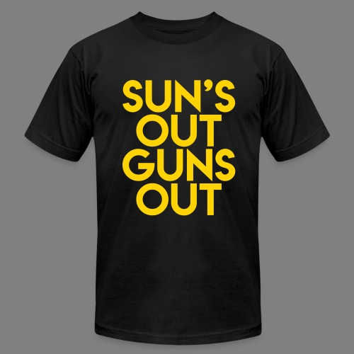 Sun's Out Guns Out - Men's Fine Jersey T-Shirt