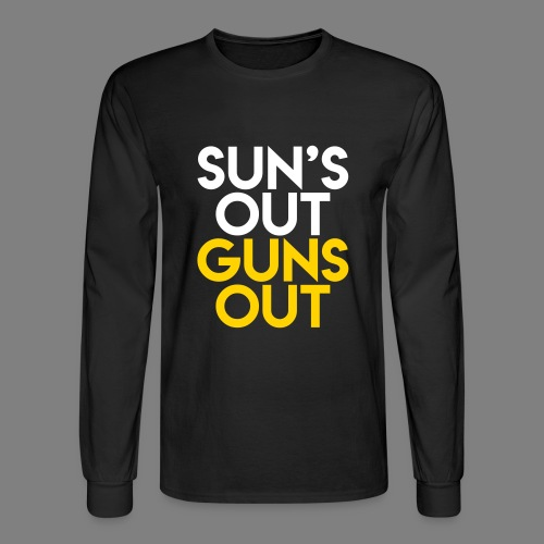 Sun's Out Guns Out - Men's Long Sleeve T-Shirt
