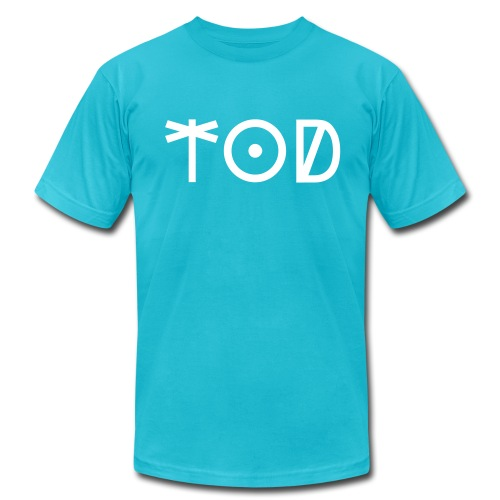 TOD (Dolphin) - Men's T-Shirt by American Apparel