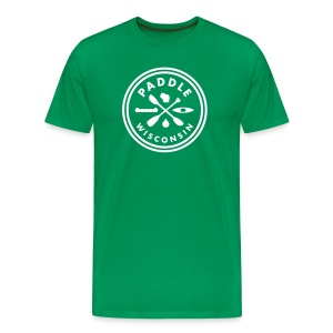 Paddle Wisconsin - Men's - Men's Premium T-Shirt