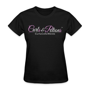 Curls and Potions Signature Logo Shirt - Women's T-Shirt