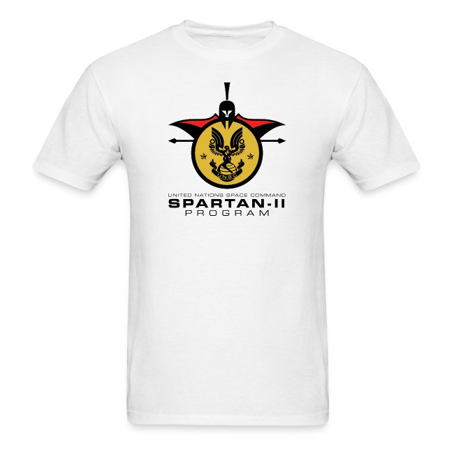 UNSC Spartan-II Program light mens shirt