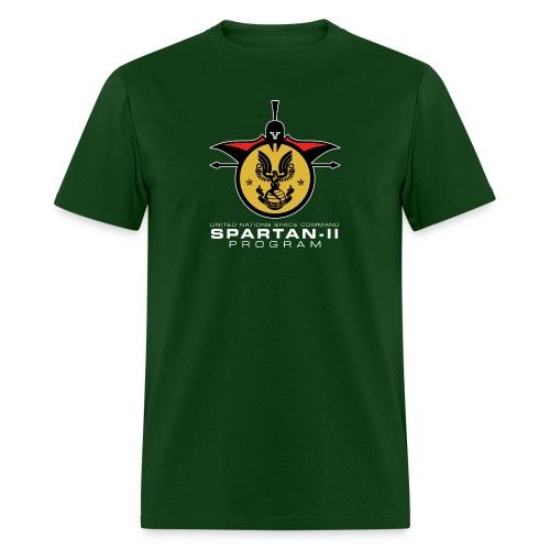 UNSC Spartan-II Program dark mens shirt - Men's T-Shirt