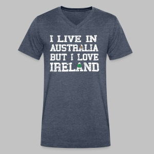 Live Austalia Love Ireland - Men's V-Neck T-Shirt by Canvas