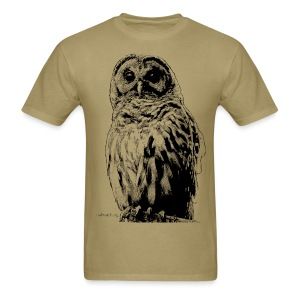 Barred Owl 4125 - Men's T-Shirt