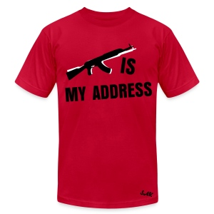 AK Is My Address Tee - Men's T-Shirt by American Apparel