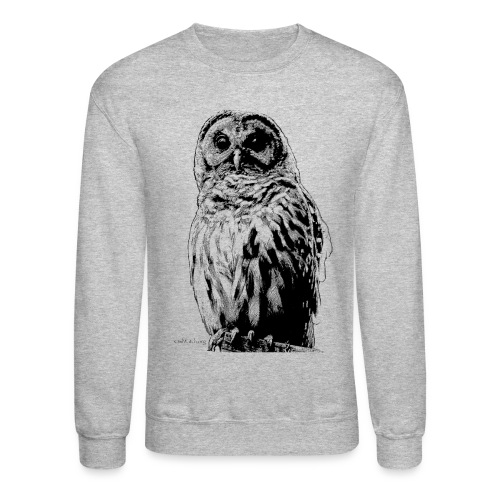 Barred Owl 4125 - Crewneck Sweatshirt