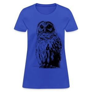 Barred Owl 4125 - Women's T-Shirt