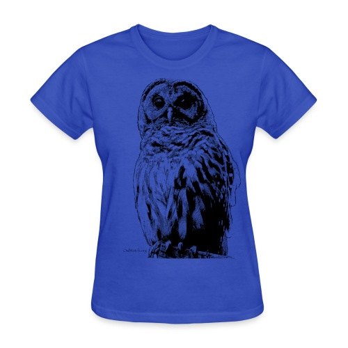 Barred Owl 4125 - Women's T-Shirt