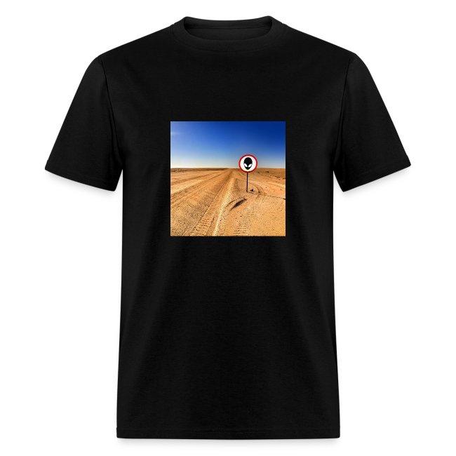 Alien in the Desert
