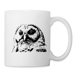 Barred Owl - st_owl_3 - Coffee/Tea Mug