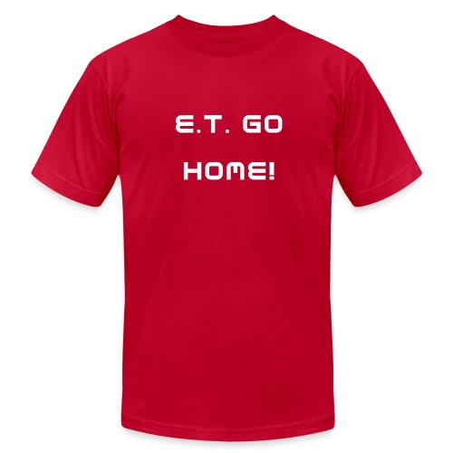 ASG Classic collection E.T. GO HOME! T-Shirt - Men's Fine Jersey T-Shirt