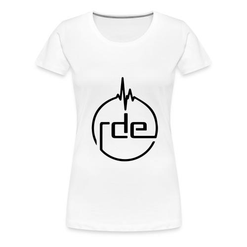 RDE White Tee - Women's Premium T-Shirt