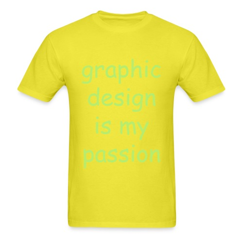 Graphic Design (Men's T-Shirt) - Men's T-Shirt