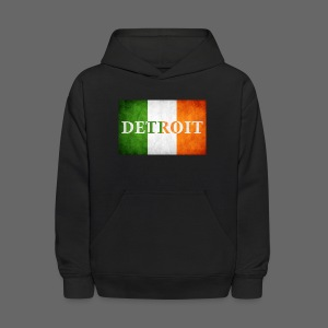 Detroit Irish Flag - Kids' Hoodie