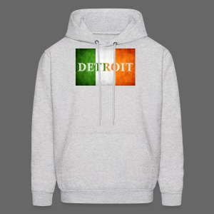 Detroit Irish Flag - Men's Hoodie