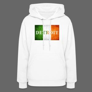 Detroit Irish Flag - Women's Hoodie