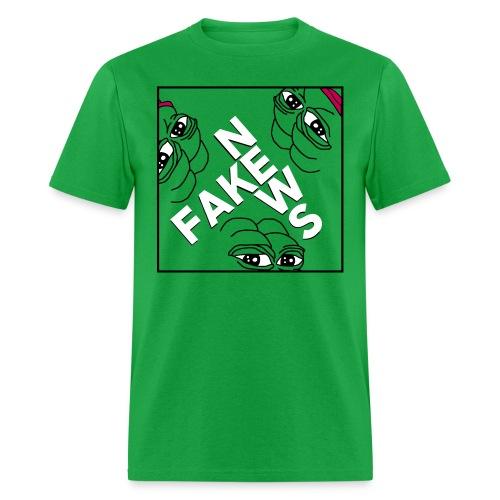 Pepe Fake News T-Shirts - Men's T-Shirt