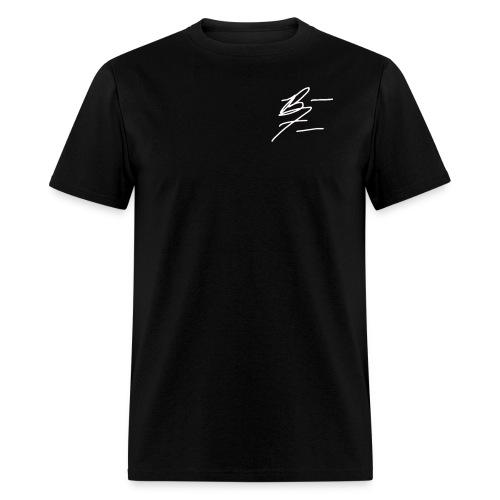 Braxton Freeman White Signature Men's T-Shirt  - Men's T-Shirt