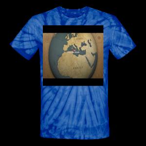 This Is Real Love(Around The Globe)Unisex Tie Dye Shirt - Unisex Tie Dye T-Shirt