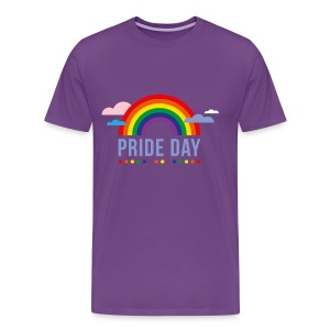 Pride Day Purple - Men's Premium T-Shirt