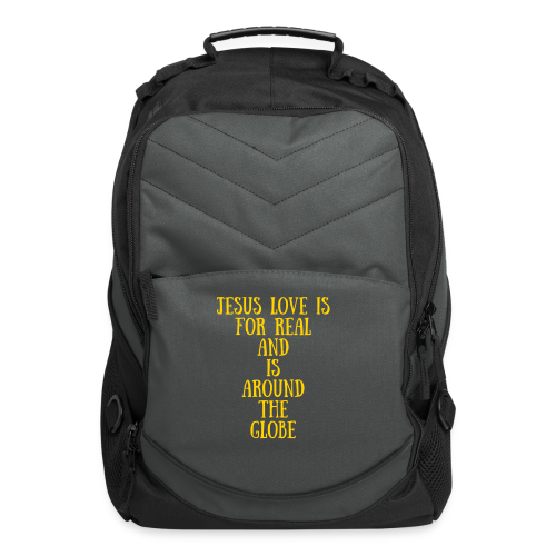 Jesus Love Is For Real And Is Around The Globe Computer Bag - Computer Backpack
