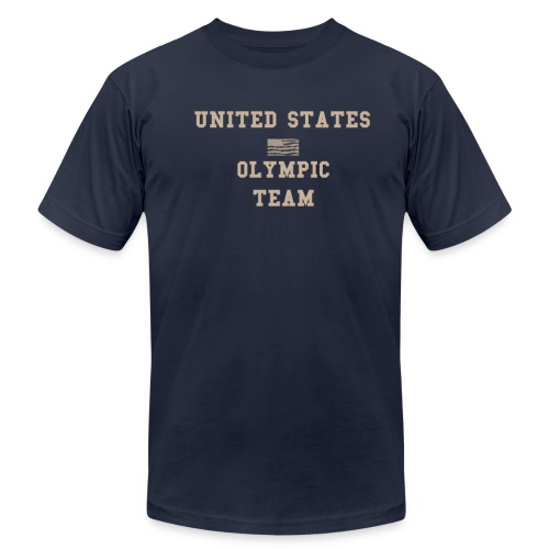 United States Patriot Team - Men's Fine Jersey T-Shirt
