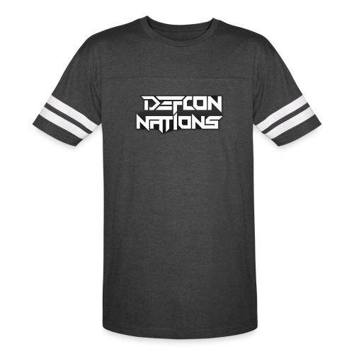 Defcon Nations Varsity T-Shirt - Vintage Sport T-Shirt