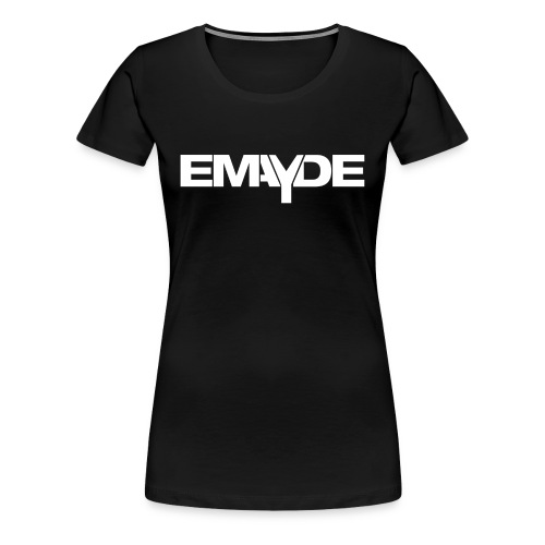Emayde White Logo Womens Shirt  - Women's Premium T-Shirt