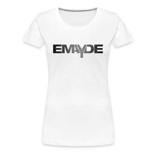Emayde Grey Logo Womens Shirt  - Women's Premium T-Shirt