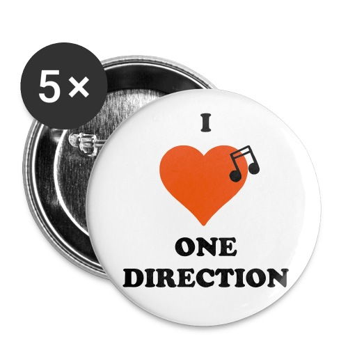 One Direction Buttons.  - Large Buttons