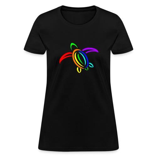 KPTV Rainbow Turtle Shirt - Women's T-Shirt