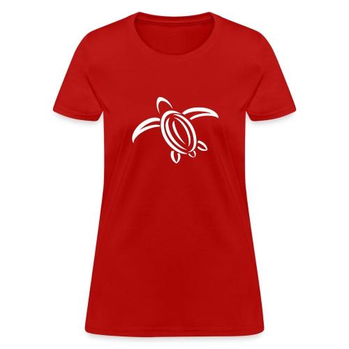 KPTV White Turtle Shirt - Women's T-Shirt