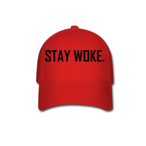 stay woke cap - Baseball Cap